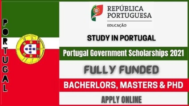 Portugal Government Scholarships 2021