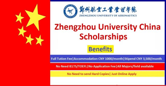 Zhengzhou University Scholarships 2021