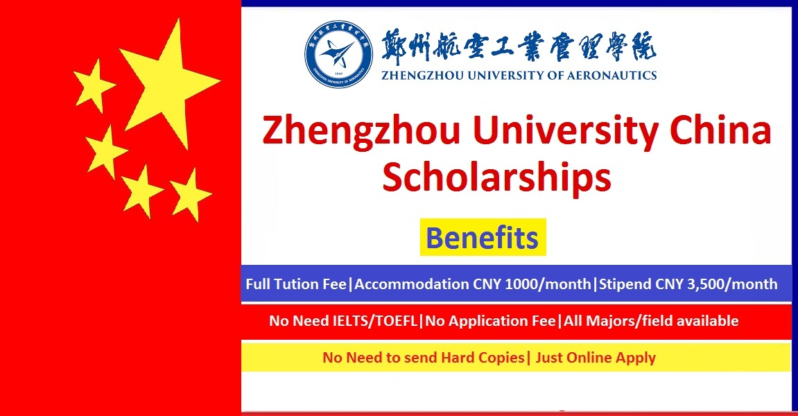Zhengzhou University Scholarships 2021 in China